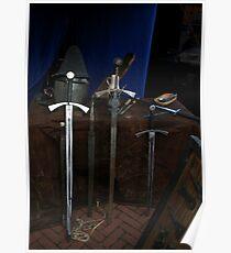 3 Swords & 2 Hats Poster