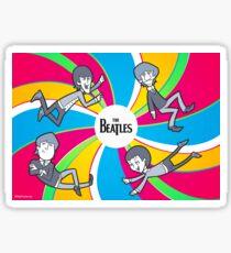 Trippy Beatles Sticker