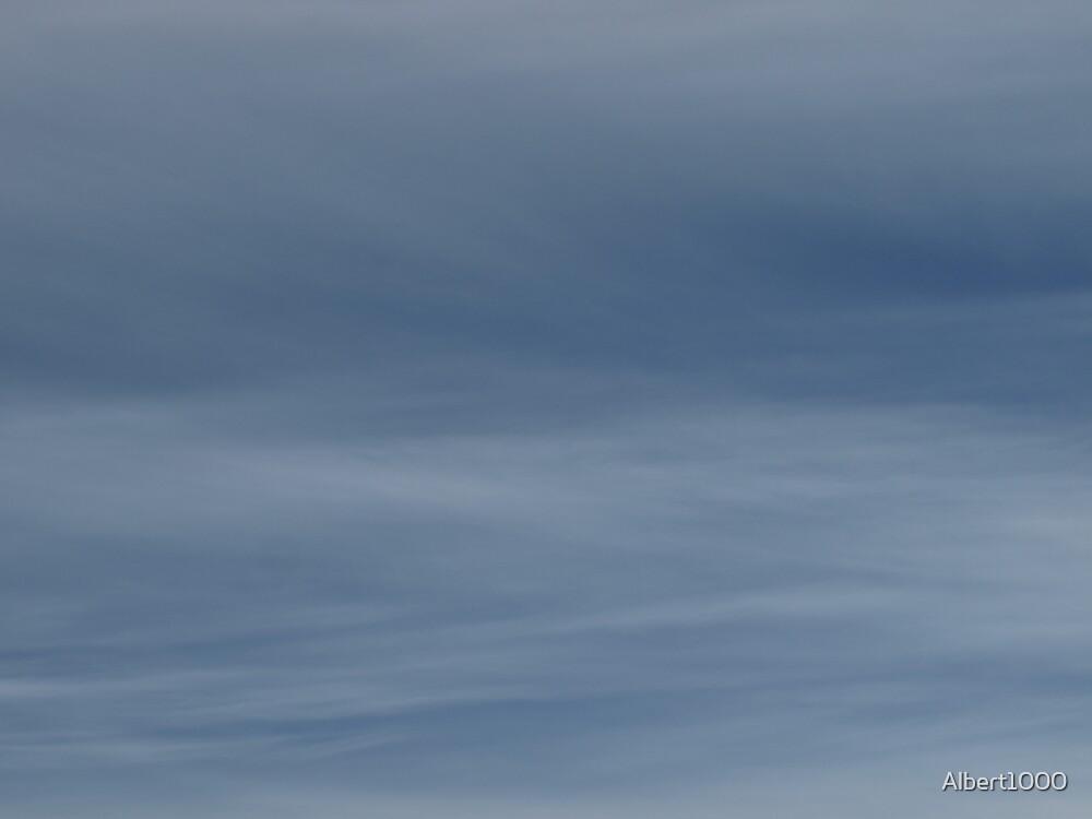 NC winter sky by Albert1000