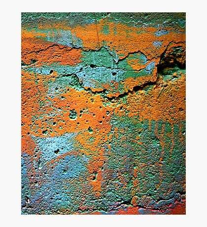IPad case of Whacking Colours Photographic Print