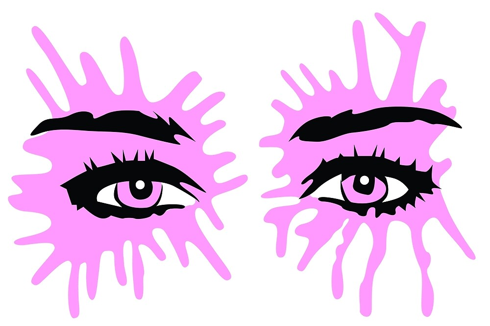 Miley Cyrus Eyes by Kaztheartist
