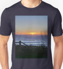 Lincoln City Sunset in May Unisex T-Shirt