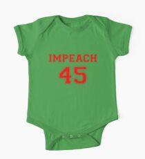 Anti-Trump Impeach 45 T-shirt One Piece - Short Sleeve