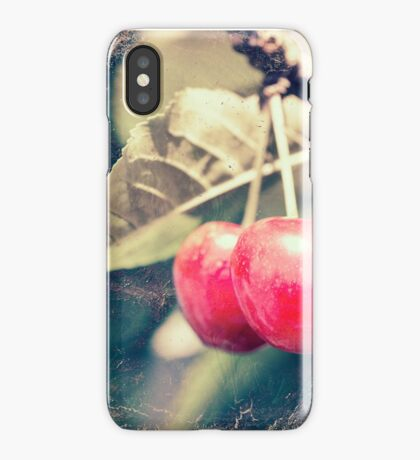 A pair of cherries iPhone Case