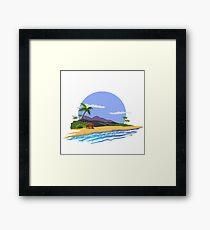 Summer time. Framed Print