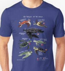 Sea Turtles of the World Unisex T-Shirt