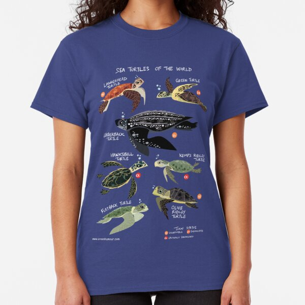 Sea Turtles of the World Classic T-Shirt