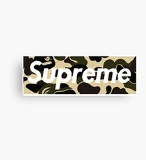 sup camo Canvas Print