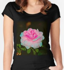 Paper Rose Women's Fitted Scoop T-Shirt