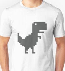 T-Rex de Google Chrome sin conexión T-Shirt