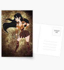 Xena Warrior Princess Postcards