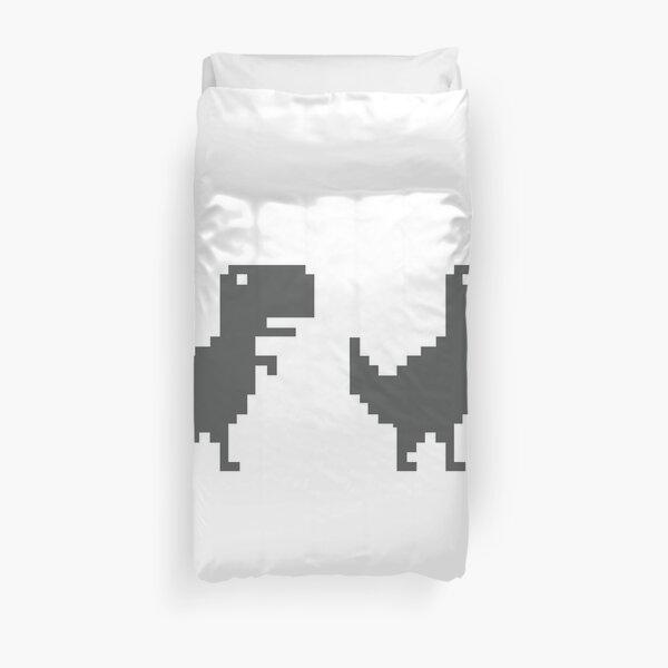 Google Chrome T-Rex offline Duvet Cover