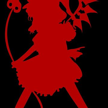 Flandre Scarlet (Dark Red) - Touhou Project by Sukima