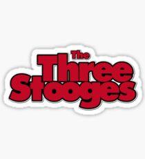 Three Ultra Stooges Sticker