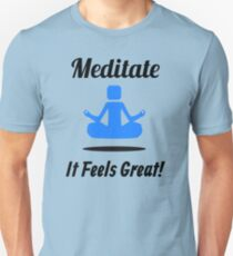Meditation enthusiast Unisex T-Shirt