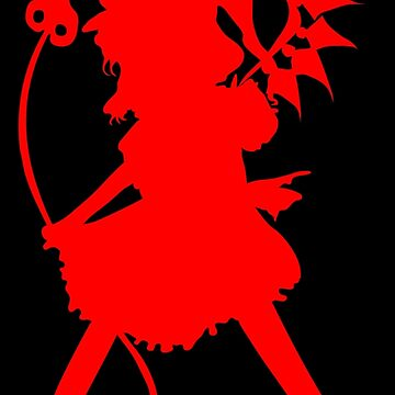Flandre Scarlet (Red) - Touhou Project by Sukima