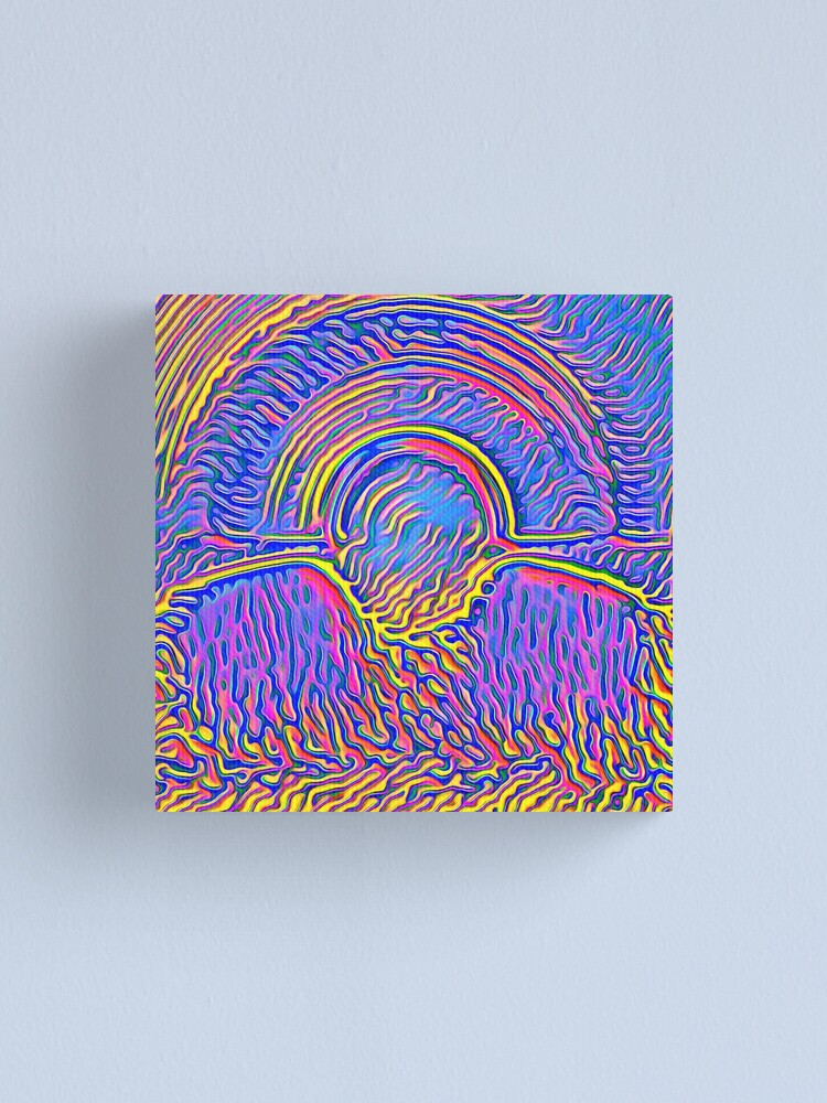Alternate view of Sunset Canvas Print