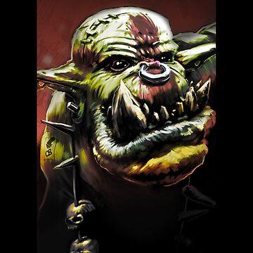 Orc Grunt Stomp Waaagh by FinnerTom