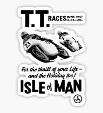 Isle of Man TT  Sticker