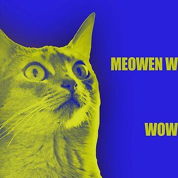 Meowen Wilson by filterfreemcgee