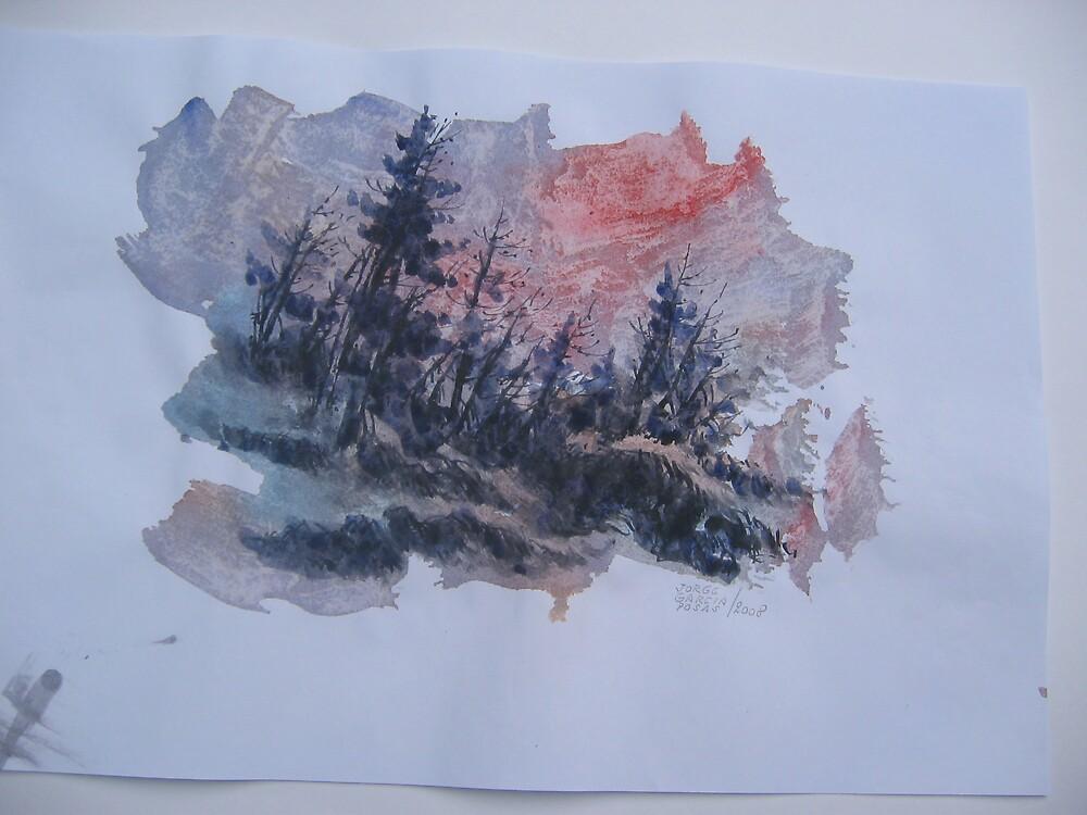 Pines  by Jorge Garcia Posas