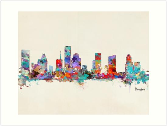 Houston Texas skyline by bri-b