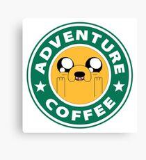 Adventure Jake Coffee Canvas Print