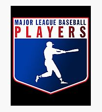 Major league baseball players Photographic Print