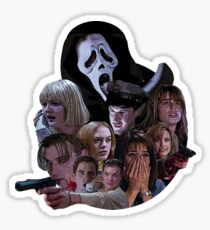 Scream (1996) Sticker