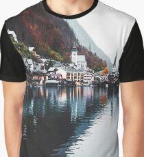 hallstatt village in austria Graphic T-Shirt