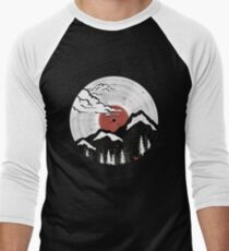 Vinyl disc Men's Baseball ¾ T-Shirt