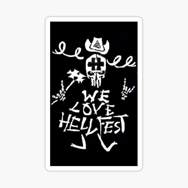 HELLFEST together Sticker