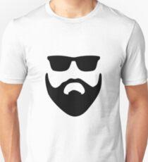 Facial Hair Unisex T-Shirt