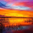 Glorious Lake Eppalock Sunset by sjphotocomau