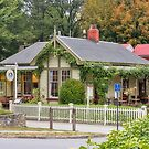 Postmasters Restaurant, Arrowtown, New Zealand by Elaine Teague