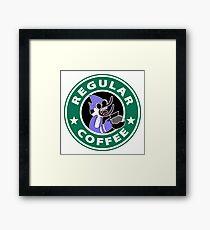 Regular Mordecai Coffee Framed Print