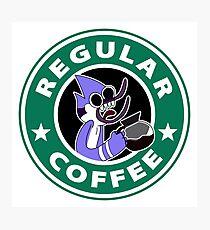 Regular Mordecai Coffee Photographic Print