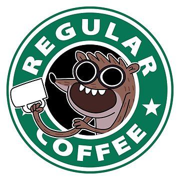 Regular Rigby Coffee by TeeGrayWolf