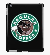 Regular Rigby Coffee iPad Case/Skin