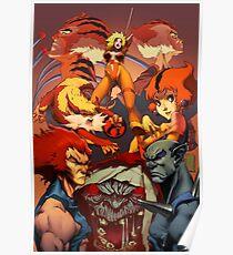 Warrior Cat Team Poster
