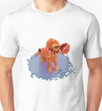 Voxel dog with ham Unisex T-Shirt