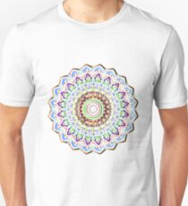 colorful mandala Unisex T-Shirt