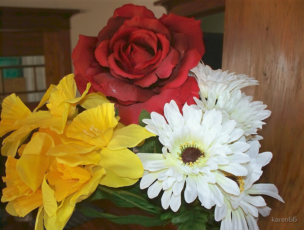 Three Flowers by karen66