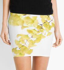 Golden Ginkgo Mini Skirt