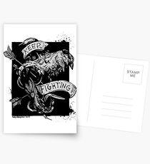Kämpf weiter Postkarten