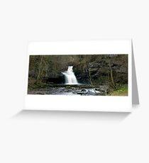 West Burton Falls Greeting Card
