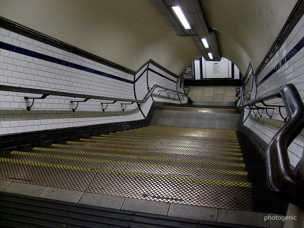 to london underground by photogenic