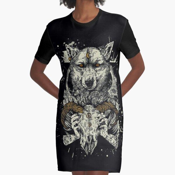 Witchcraft  Graphic T-Shirt Dress