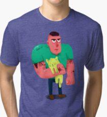 El chungo del gato Tri-blend T-Shirt