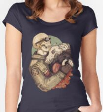 Weird Love  Women's Fitted Scoop T-Shirt